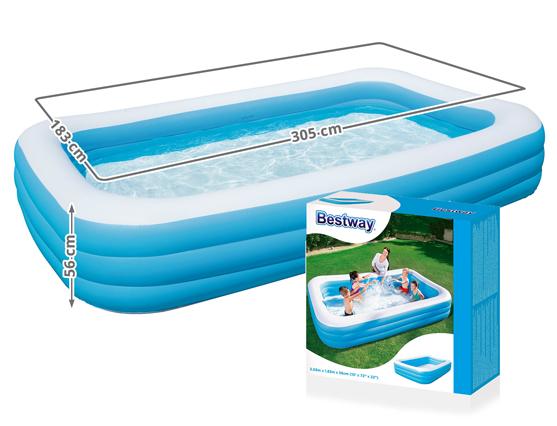 Bestway pool schwimmbecken planschbecken swimmingpool for Poolfolie verlegen firma