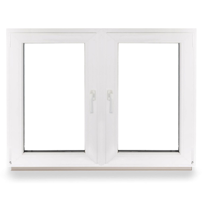 Kunststofffenster wohnraumfenster fenster 2 fl gler 2 fl gelig mit pfosten top ebay - Fenster 2 flugelig ...