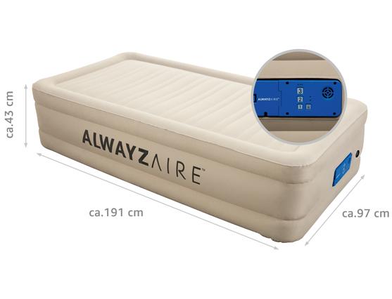 69030 Bestway® AlwayzAire™ Fortech™ 191x97x43 cm Luftbett selbstaufblasend