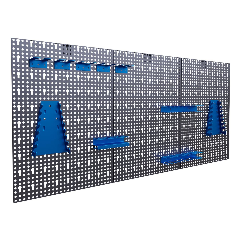 Gut bekannt Werkzeugwand Lochwand mit Hakensortiment Werkstattwand UY06